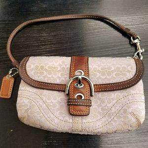 Coach clutch small pouch bag